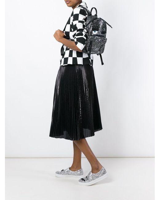 Рюкзак Flirting Chiara Ferragni                                                                                                              чёрный цвет