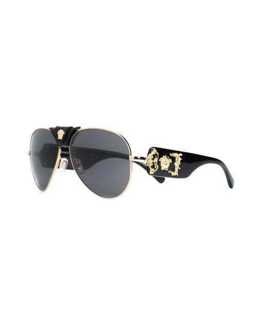 Солнцезащитные Очки Medusa Versace                                                                                                              чёрный цвет
