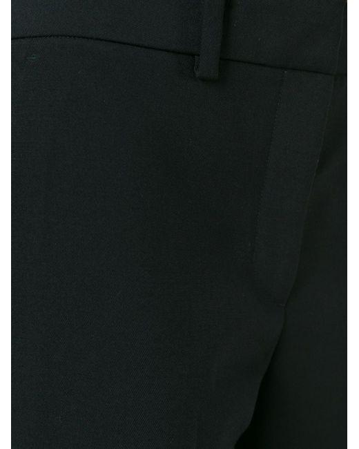 Укороченные Брюки Helmut Lang                                                                                                              чёрный цвет