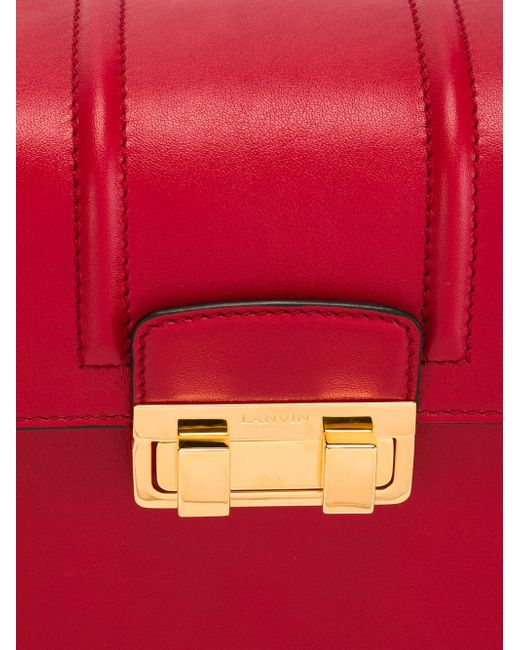 Сумка На Плечо Jiji Lanvin                                                                                                              красный цвет