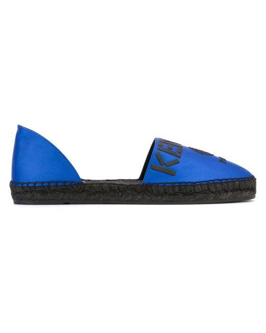 Эспадрильи Paris Kenzo                                                                                                              синий цвет
