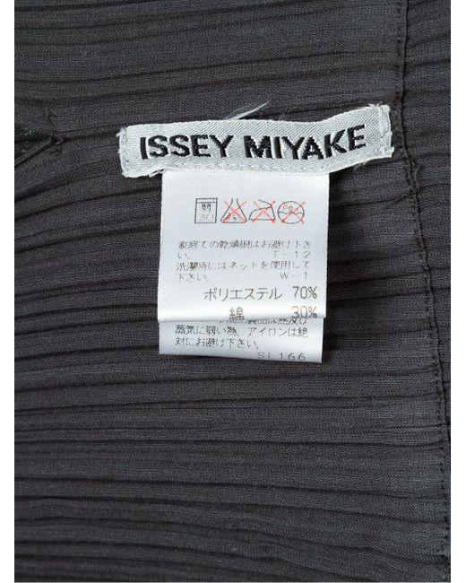 Плиссированное Платье ISSEY MIYAKE VINTAGE                                                                                                              серый цвет