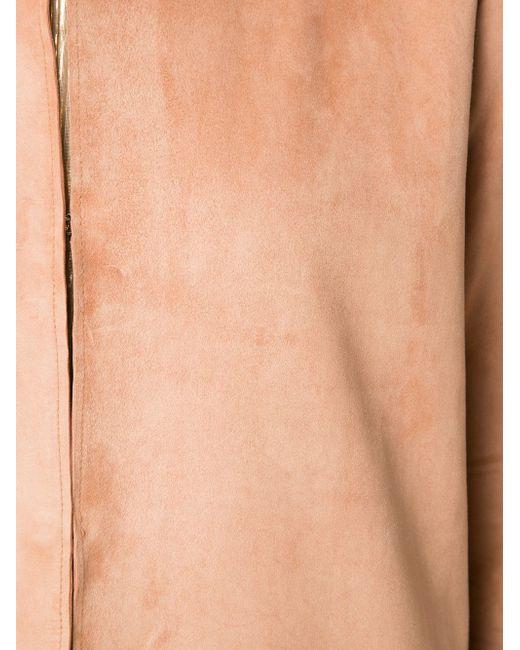 Замшевое Пальто Adam Lippes                                                                                                              Nude & Neutrals цвет