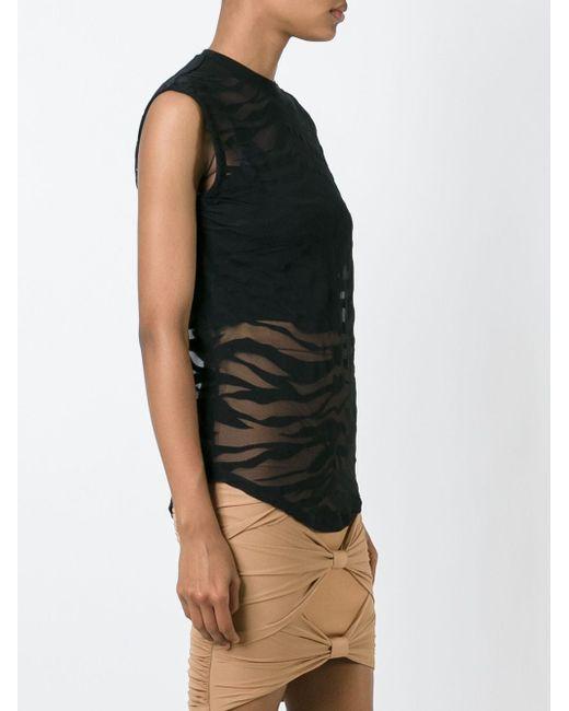 Топ Balmain                                                                                                              чёрный цвет