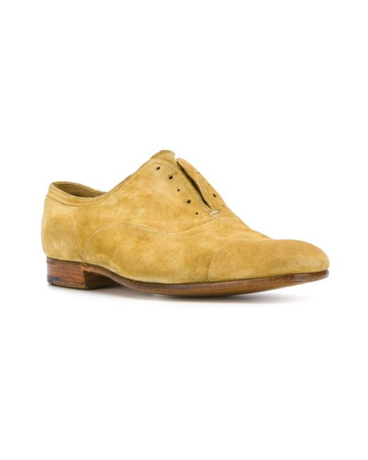 Туфли Оксфорды Sony Premiata                                                                                                              желтый цвет