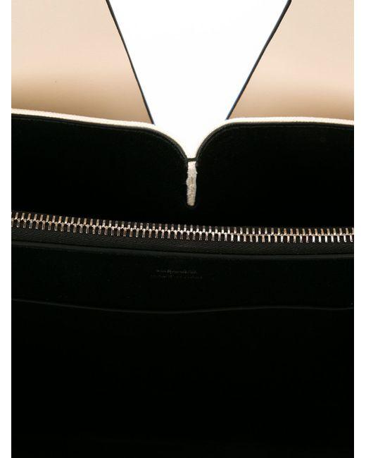 Сумка На Плечо С Прорезной Деталью Jil Sander                                                                                                              чёрный цвет