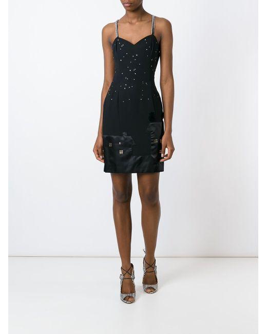 Платье Cat And The Stars MOSCHINO VINTAGE                                                                                                              чёрный цвет