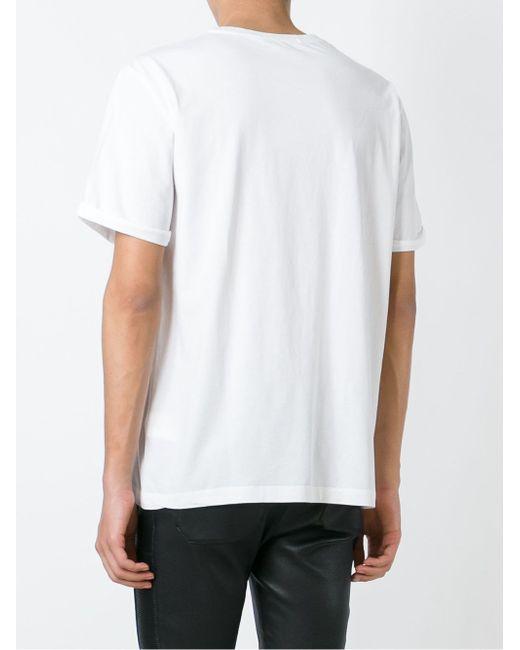 Классическая Футболка Pierre Balmain                                                                                                              белый цвет