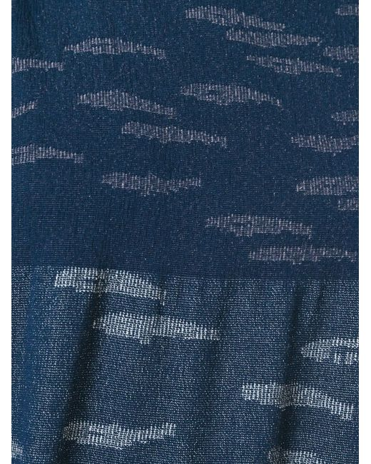 Тканый Топ Boboutic                                                                                                              синий цвет