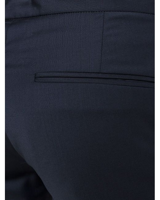 Брюки Кроя Слим С Поясом На Шнурке Maison Margiela                                                                                                              синий цвет
