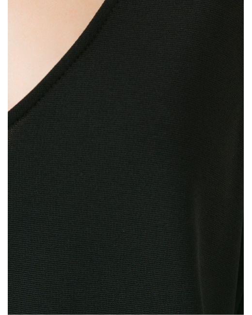 Belted Sleeveless Jumpsuit GLORIA COELHO                                                                                                              чёрный цвет