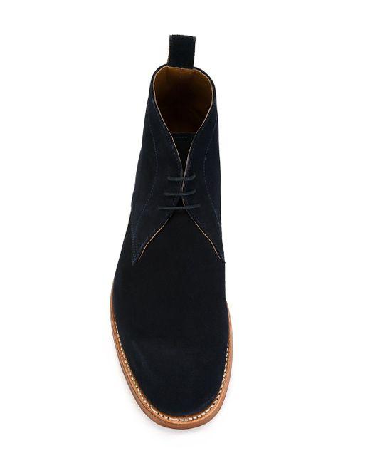 Ботинки Marcus Grenson                                                                                                              синий цвет
