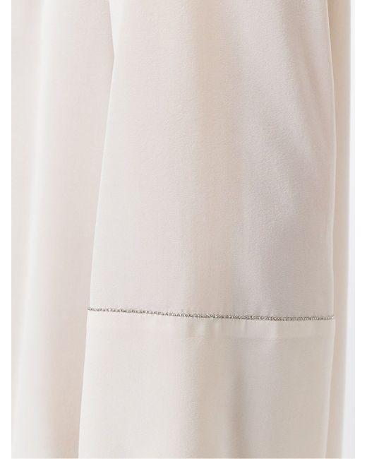 Декорированная Блузка Brunello Cucinelli                                                                                                              Nude & Neutrals цвет