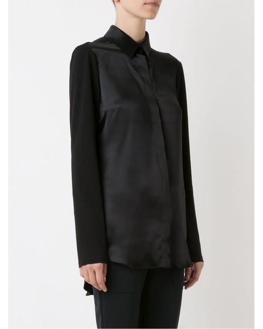 Panel Shirt GLORIA COELHO                                                                                                              чёрный цвет