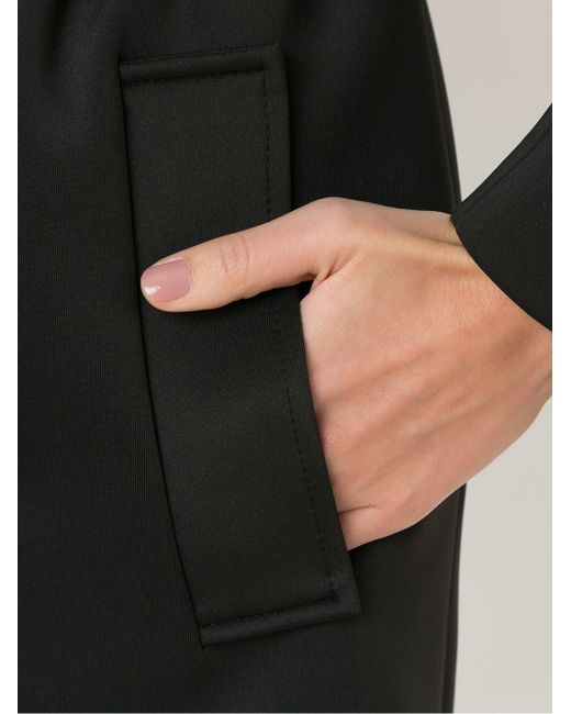 Mid-Lenght Belted Coat GLORIA COELHO                                                                                                              чёрный цвет