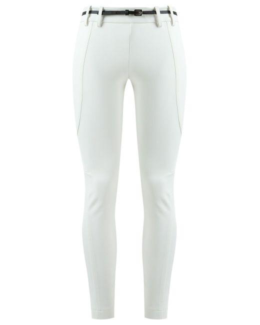 Panelled Skinny Trousers GLORIA COELHO                                                                                                              белый цвет