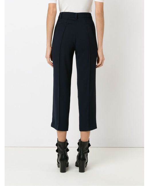 Cropped Trousers GLORIA COELHO                                                                                                              синий цвет
