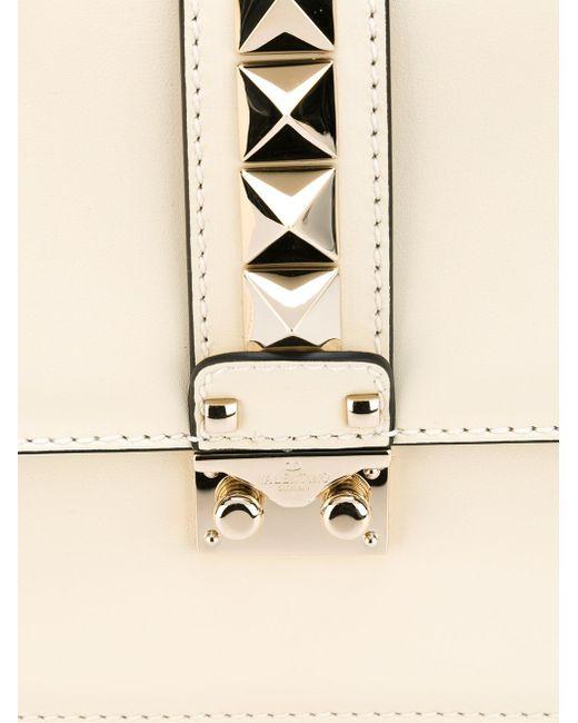 Сумка На Плечо Glam Lock Valentino Garavani                                                                                                              белый цвет