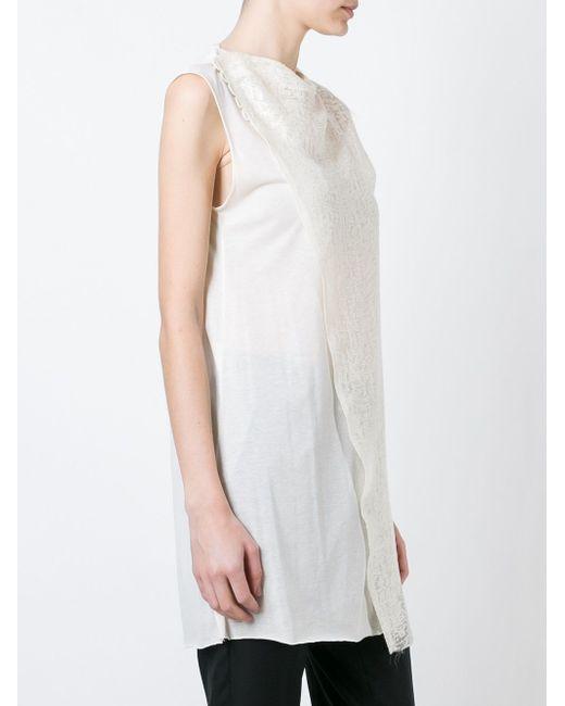 Асимметричный Топ Yang Li                                                                                                              Nude & Neutrals цвет