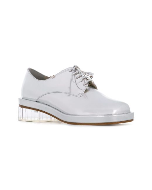 Туфли На Прозрачном Каблуке Simone Rocha                                                                                                              серебристый цвет