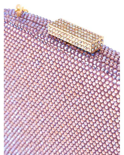 Embellished Clutch Bag SERPUI                                                                                                              розовый цвет