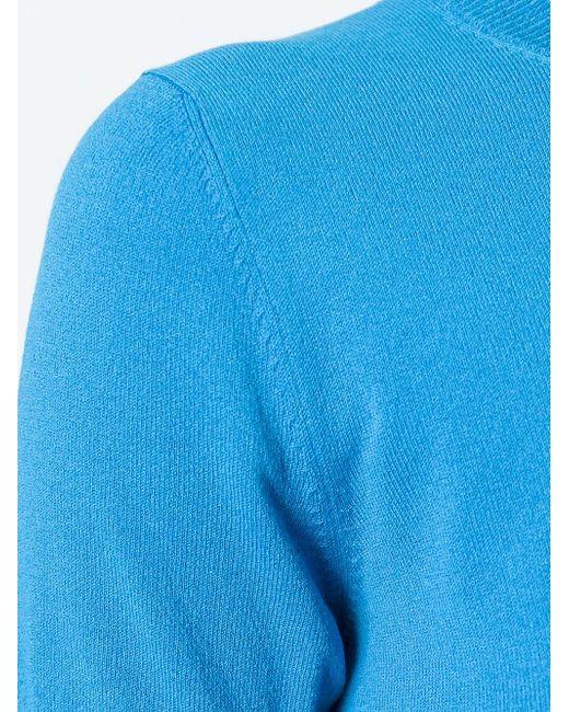 Укорчоенный Топ I'm Isola Marras                                                                                                              синий цвет