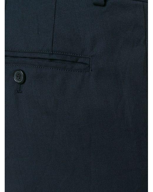 Классические Брюки Marni                                                                                                              синий цвет