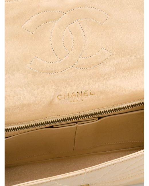 Коллекционная Сумка На Плечо Lion Chanel Vintage                                                                                                              Nude & Neutrals цвет