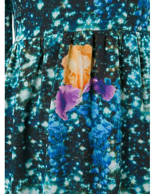 Платье С Цветочным Принтом Francesco Scognamiglio                                                                                                              None цвет