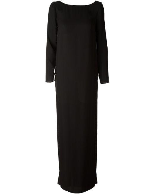 Вечернее Платье Versus                                                                                                              чёрный цвет
