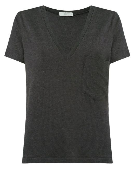 V-Neck Blouse EGREY                                                                                                              чёрный цвет