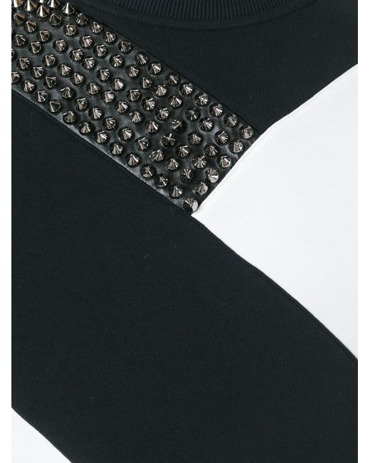 Толстовка С Заклепками Philipp Plein                                                                                                              чёрный цвет