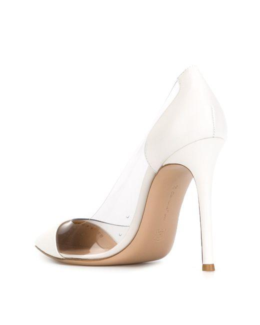 Туфли Plexi Gianvito Rossi                                                                                                              белый цвет