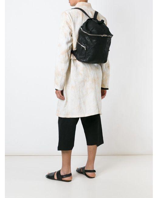Рюкзак С Ручкой GUIDI                                                                                                              чёрный цвет