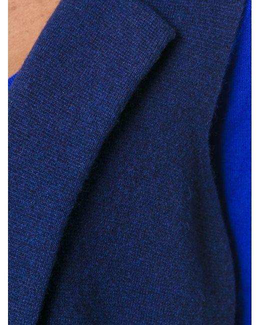 Длинной Жилет Milano N.PEAL                                                                                                              синий цвет