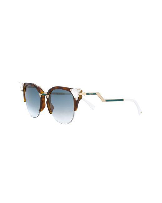 Солнцезащитные Очки Iridia Fendi                                                                                                              коричневый цвет
