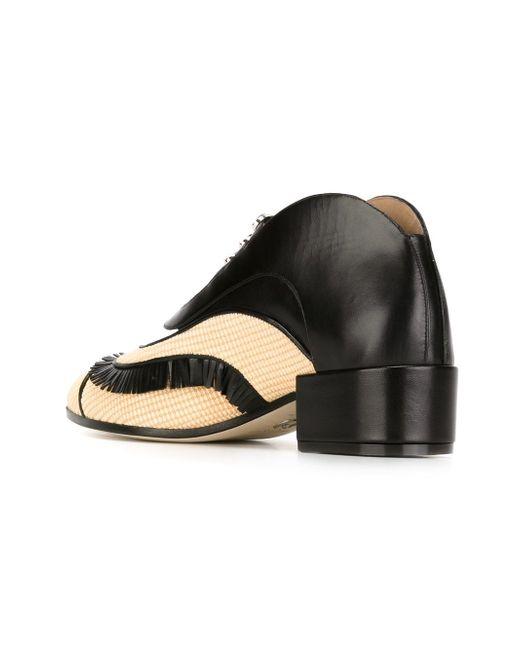Фигурные Туфли С Пряжками Paula Cademartori                                                                                                              чёрный цвет