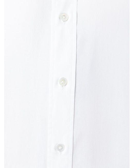 Рубашка С Воротником-Стойкой Ports                                                                                                              белый цвет