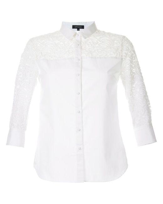 Рубашка С Узором Пейсли LOVELESS                                                                                                              белый цвет