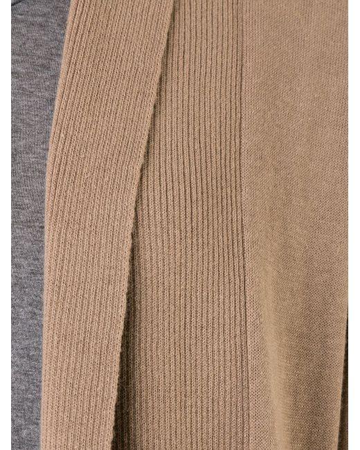 Длинный Кардиган LOVELESS                                                                                                              коричневый цвет