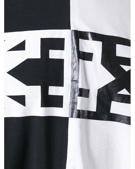 Футболка Колор-Блок Ktz                                                                                                              белый цвет