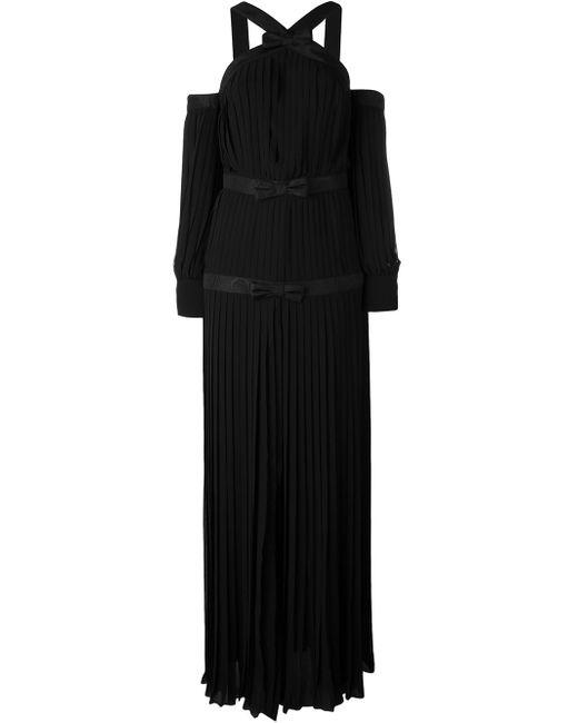 Вечернее Платье Alessandra Rich                                                                                                              чёрный цвет