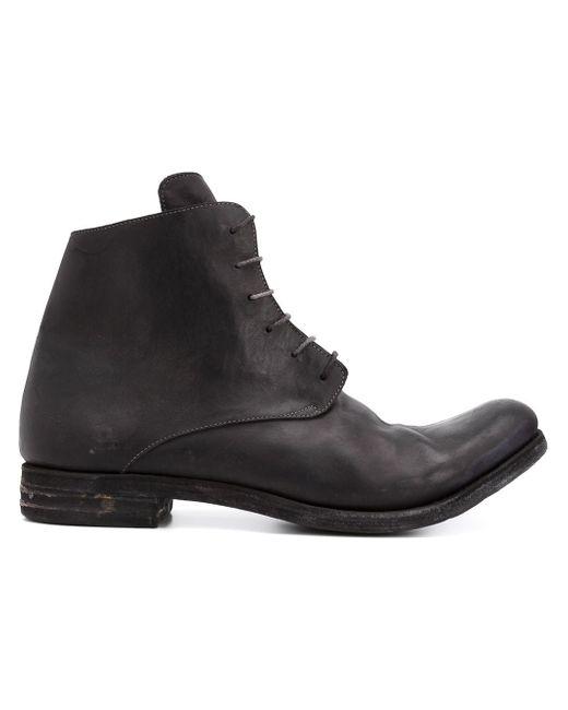 Ботинки С Потертой Отделкой A DICIANNOVEVENTITRE                                                                                                              чёрный цвет