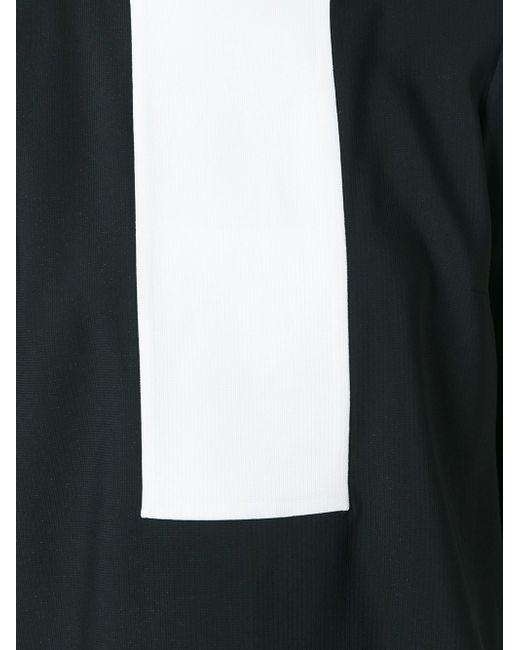 Платье-Шифт С Контрастной Панелью Gianluca Capannolo                                                                                                              чёрный цвет