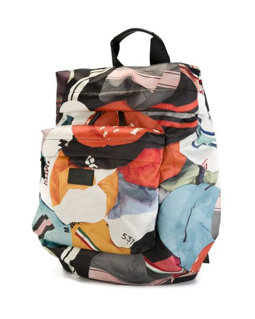 Рюкзак С Геометрическим Узором Paul Smith                                                                                                              многоцветный цвет