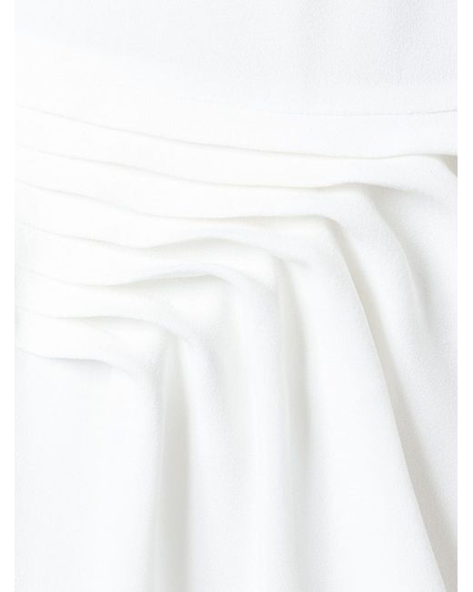 Платье С Глубоким Вырезом Emporio Armani                                                                                                              белый цвет