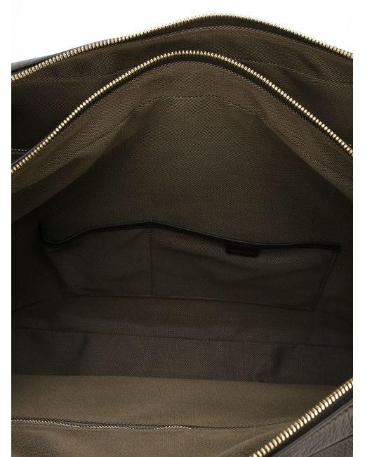 Портфель С Карманом Спереди Smythson                                                                                                              коричневый цвет