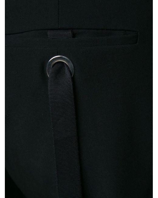 Укороченные Брюки С Ремешками Сзади Todd Lynn                                                                                                              чёрный цвет