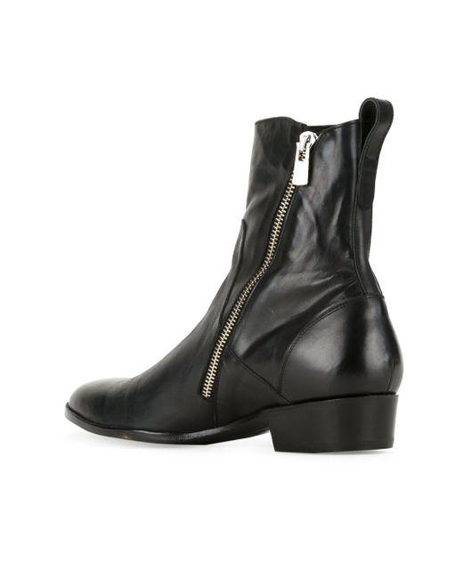 Ботинки На Молнии HL HEDDIE LOVU                                                                                                              чёрный цвет