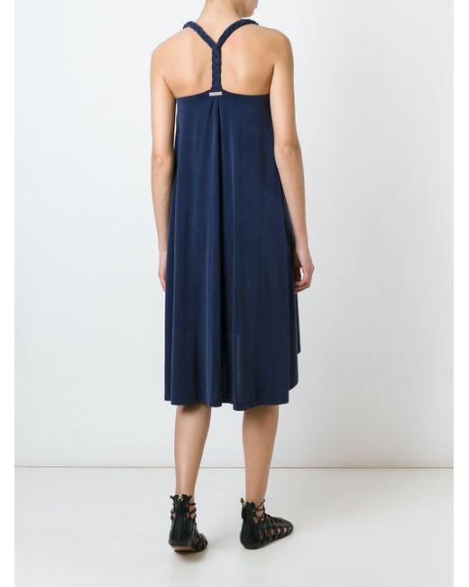 Платье Без Рукавов Heidi Klein                                                                                                              синий цвет